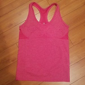 Ae active seamless tank top size large
